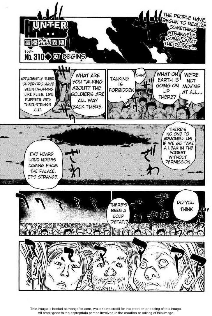Hunter X Hunter 310 Page 1