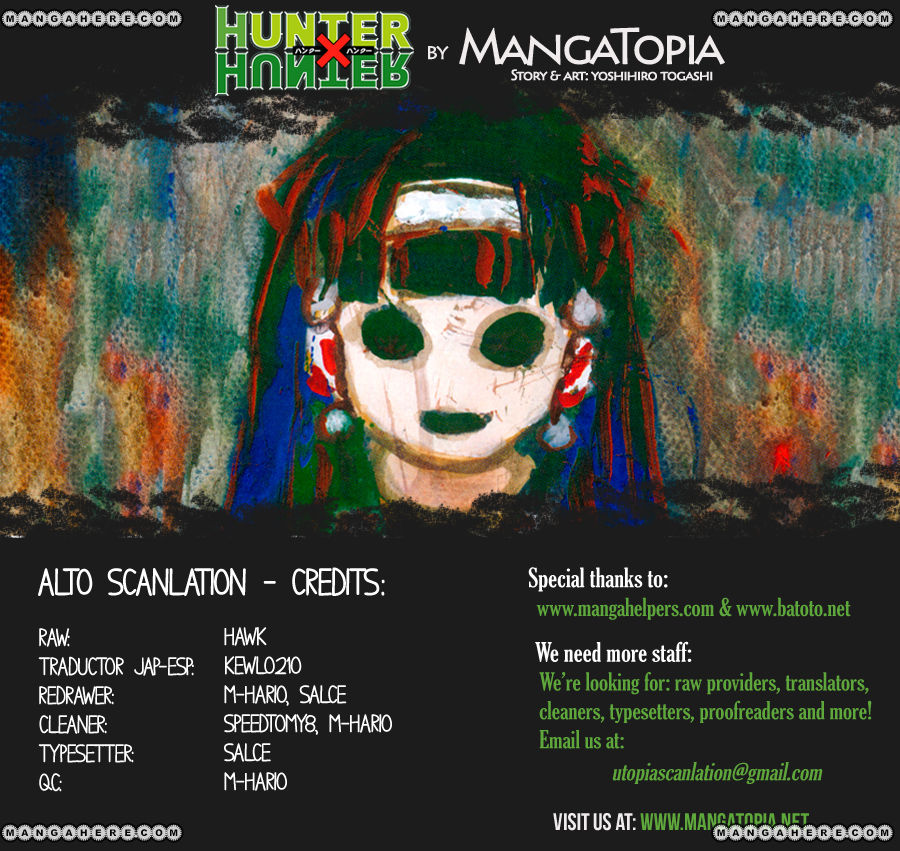 Hunter X Hunter 339 Page 1
