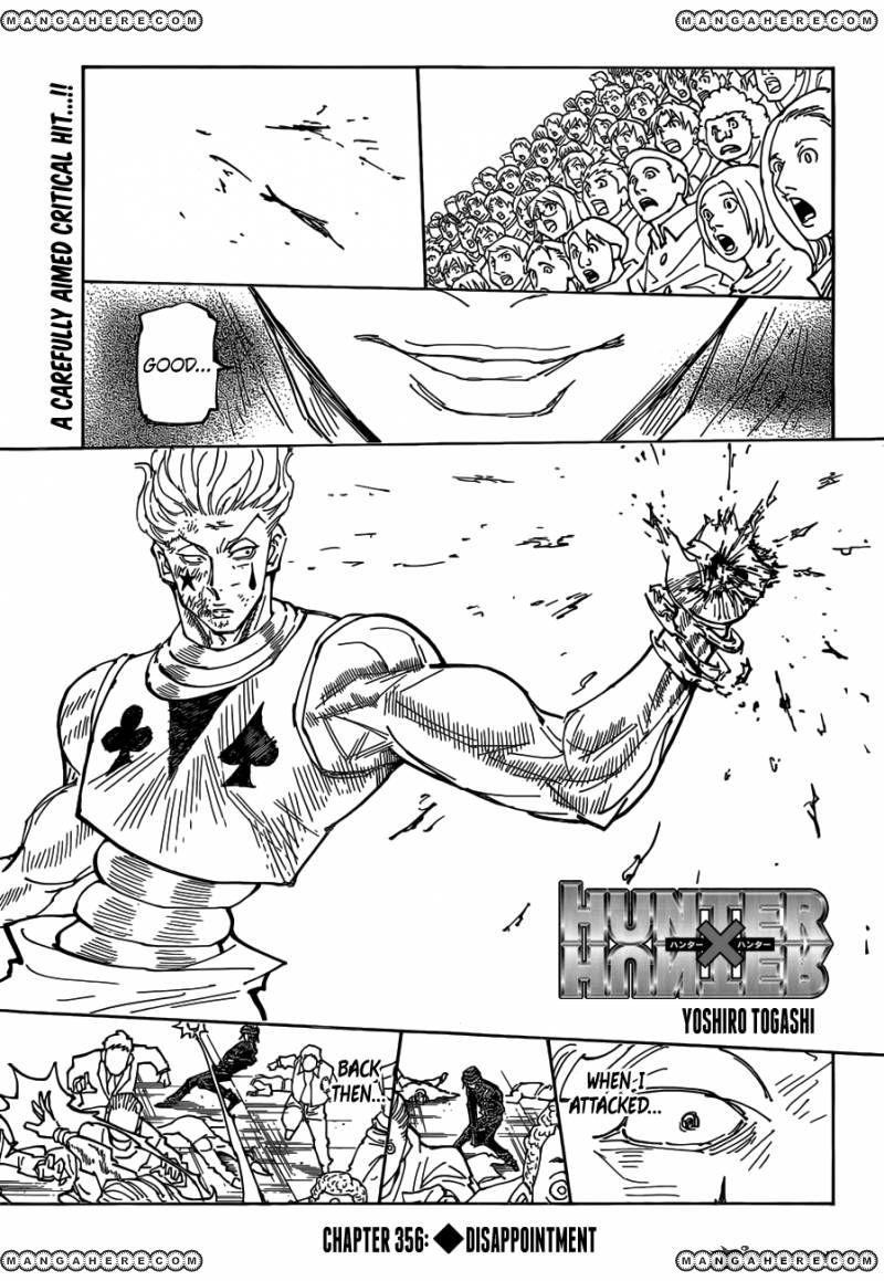 Hunter X Hunter 356 Page 1