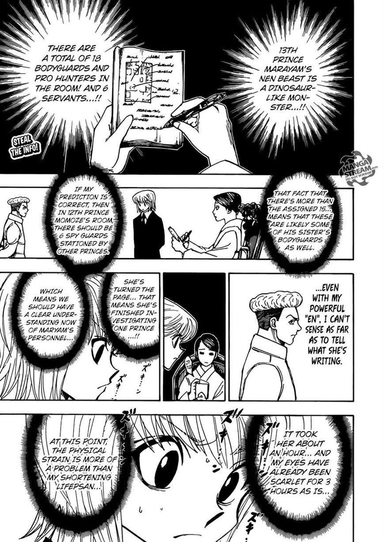 Hunter X Hunter 368 Page 1