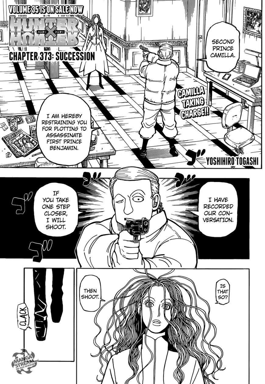 Hunter X Hunter 373 Page 1